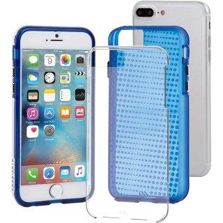 iPhone8 Plus ケース 2層構造で保護 iPhone8 Plus/7 Plus/6s Plus/6 Plus Hybrid Tough Translucent Case Clear/Blue
