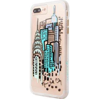 デザインプリント iPhone8 Plus/7 Plus/6s Plus/6 Plus  Hybrid Naked Tough City Print NY City View