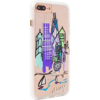 【iPhone8 Plus デザイン・プリント】iPhone8 Plus/7 Plus/6s Plus/6 Plus Hybrid Naked Tough City Print Chicago