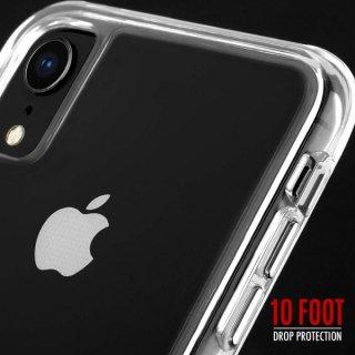 【スリムボディなのに耐衝撃性抜群!】iPhoneXR Tough Clear-Clear