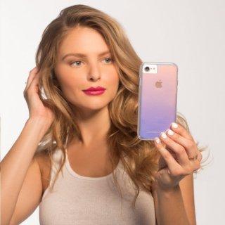 【光の加減で色が変化する個性的なケース】iPhoneXR Tough-Iridescent