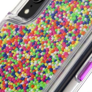 【カラフルなビーズが印象的なケース】iPhoneXR Sprinkles