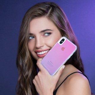 【光の加減で色が変化する個性的なケース】iPhoneXS Max Tough-Iridescent