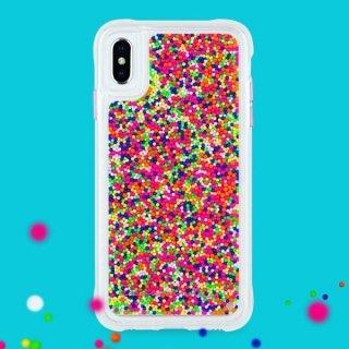 【カラフルなビーズが印象的なケース】iPhoneXS Max Sprinkles