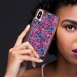 【ゴージャスでかわいい ブローチ柄】iPhoneXS/X Brilliance - Brooch