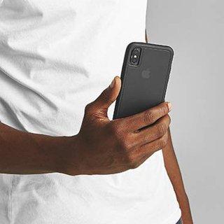 【ガラスフィルムとのセット販売!】iPhoneXS Tough MatteBlack and Screen Protector