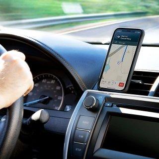 【カーマウント付きの便利なタフケース】iPhone XS ToughCase-Black with Car Vent Mount