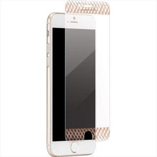 【美しく液晶画面を保護する強化ガラスフィルム】iPhone SE(第2世代/2020年発売) / 8 / 7 / 6s / 6 Glass Screen Protector Rose Gold
