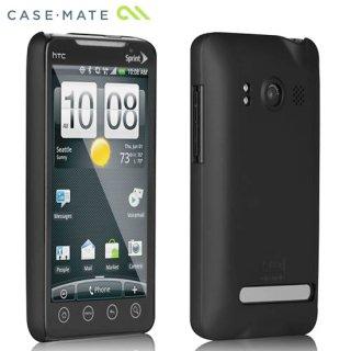 【スリムなハードケース】 au HTC EVO WiMAX ISW11HT Barely There Case Matte Black