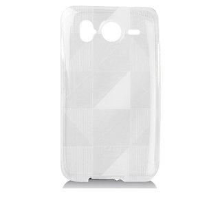 【シンプルなソフトケース】 SoftBank 001HT/HTC Desire HD Gelli Case Checkmate Clear