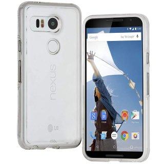 【衝撃に強いケース】 LG Google Nexus 5X / docomo Nexus 5X Hybrid Tough Naked Case Clear/Clear