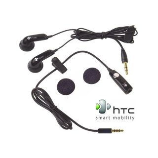 【HTC純正ヘッドセット】 HTC 純正 Stereo Headset U350 (3.5mm) with Headset Adapter
