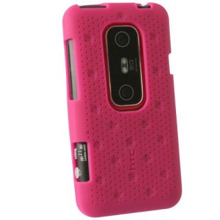 【HTC純正シリコンケース】au ISW12HT/HTC EVO 3D Silicone Case  Raspberry