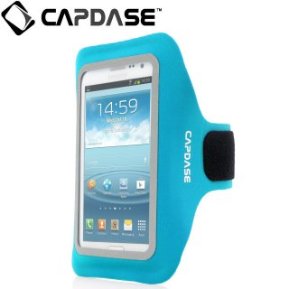 【ジョギングに最適なケース】 CAPDASE Sport Armband Zonic Plus 155A for 5.7 inch  Blue
