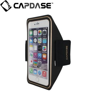 【iPhone6s Plus/6 Plus ケース 防水アームバンドスタイル】 CAPDASE Water-Resistant Arm Band POSH s  Black/Gold