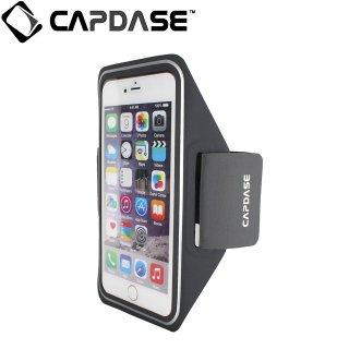 【iPhone6s Plus/6 Plus 防水アームバンドスタイル】 CAPDASE Water-Resistant Arm Band POSH   Grey/Silver