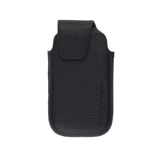 【RIM純正のポケットタイプケース】 BlackBerry Torch 9850/9860 本革 Leather Pocket  Black