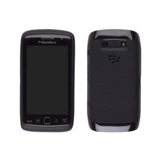 【RIM純正ソフトケース】 BlackBerry Torch 9850/9860 Softshell TPU Case  Black