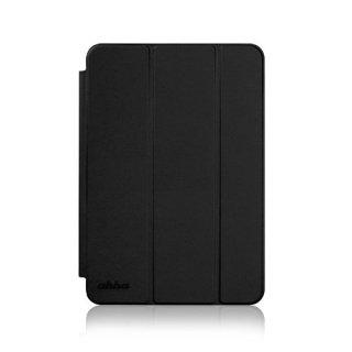 【スタンド機能付きのシンプルなケース】 ahha iPad mini 3/2/1 ローナイ  ステルス・ブラック