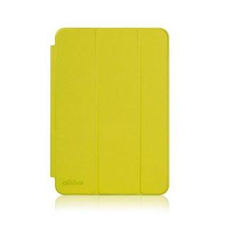 【スタンド機能付きのシンプルなケース】 ahha iPad mini 3/2/1 ローナイ  イエロー