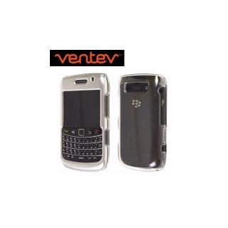 【2種の素材を使ったケース】 Ventev BlackBerry Bold 9780/9700 Aluminum & Acrylic fiber Case  Chrome/Clear