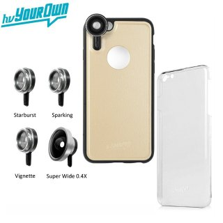 【iPhone6s/6 ケース】 hvYourOwn GoLensOn Case QUICK-IN PHOTO KIT レンズ装着ケース(4種類)