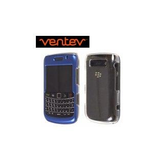【2種の素材を使ったケース】 Ventev BlackBerry Bold 9780/9700 Aluminum & Acrylic fiber Case  Blue/Clear