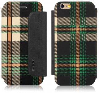 【iPhone6s Plus/6 Plus ケース かわいいチェック柄】 ahha iPhone6s Plus/6 Plus  CONRAN Fashion Flip Case