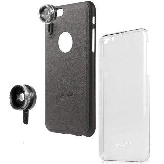 【iPhone6s Plus/6 Plus ケース】 hvYourOwn iPhone GoLensOn Case PHOTO  レンズ装着ケース(ワイド+マクロ)  ブラック