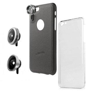 【iPhone6s Plus/6 Plus ケース】 hvYourOwn iPhone GoLensOn Case PHOTO  レンズ装着ケース(魚眼+ワイド)  ブラック