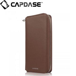 【iPhone 6s ケース ポーチタイプ】 CAPDASE iPhone6s/6 Organizer Wristlet Case  Brown