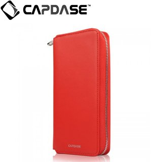 【iPhone 6s ケース ポーチタイプ】 CAPDASE iPhone6s/6 Organizer Wristlet Case  Red