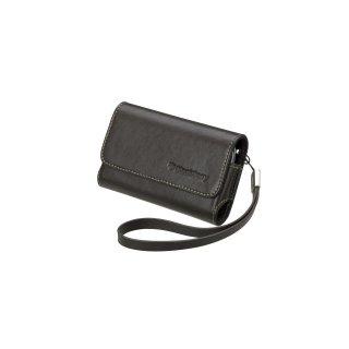 【純正ポーチタイプケース】 BlackBerry Bold 9000 Premium Leather Folio Pouch with Strap  Espresso