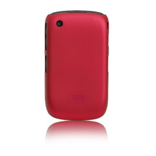 【スリムハードケース】 BlackBerry Curve 9300 Barely There Case  Matte Red