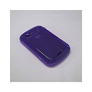 【ソフトケース】 GauGau docomo BlackBerry Bold 9900/9930 Plain Design Soft Case  Clear Purple