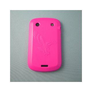 【ソフトケース】 GauGau BlackBerry Bold 9900/9930 Eagle Design TPU Case  Clear Hot Pink