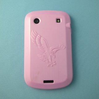【ソフトケース】 GauGau BlackBerry Bold 9900/9930 Eagle Design TPU Case  Solid Light Pink