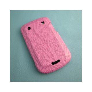 【ベビ革調ハードケース】 GauGau docomo BlackBerry Bold 9900/9930 Hard Rear Cover  Pink