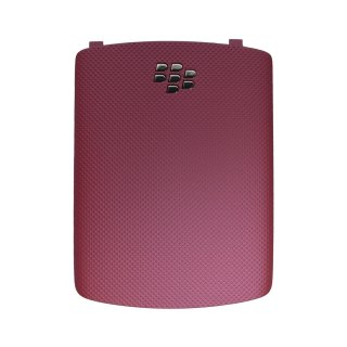 docomo BlackBerry Curve 9300 Battery Door  Hot Pink