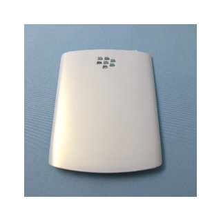 docomo BlackBerry Curve 9300 Battery Door  Gloss Pearl White
