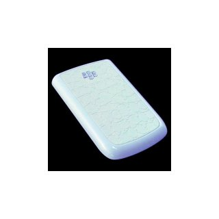 BlackBerry Bold 9780/9700 Battery Door  Croco Glossy Flat White  Gloss Pearl White