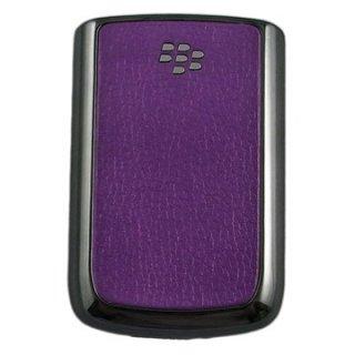BlackBerry Bold 9780/9700 Battery Door  Koskin Purple  Chrome Gun Metalic