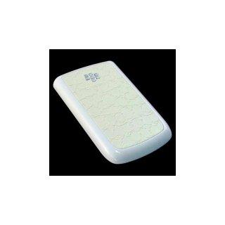 BlackBerry Bold 9780/9700 Battery Door  Croco Glossy Flat Cream White  Gloss White