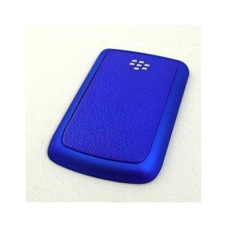 BlackBerry Bold 9780/9700 Battery Door  Koskin Dark Blue  Rubberized Blue