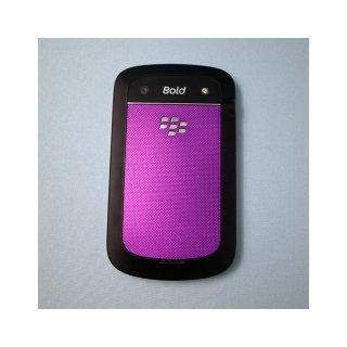 BlackBerry Bold 9900/9930 Battery Door  Minimum Circle Pattern  Purple