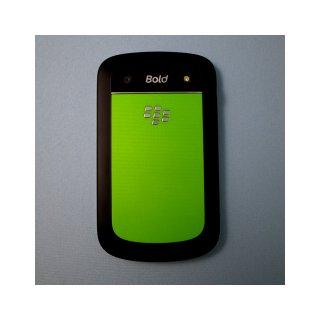 BlackBerry Bold 9900/9930 Battery Door  Minimum Circle Pattern  Green
