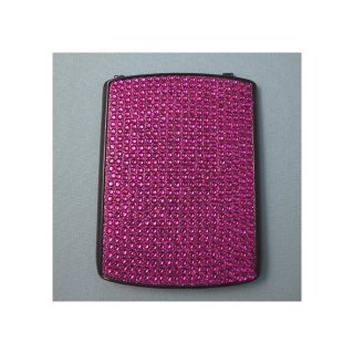 docomo BlackBerry Curve 9300 Battery Door  Decorative Jewel Raspberry Pink