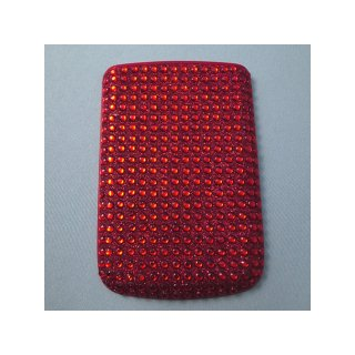 BlackBerry Bold 9780/9700 Battery Door  Decorative Jewel Ruby Red