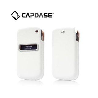 【ポケットタイプケース】 CAPDASE BlackBerry Bold 9790 ID Pocket Luxe  White/Orange