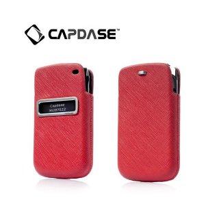 【ポケットタイプケース】 CAPDASE BlackBerry Bold 9790 ID Pocket Luxe  Red/Black